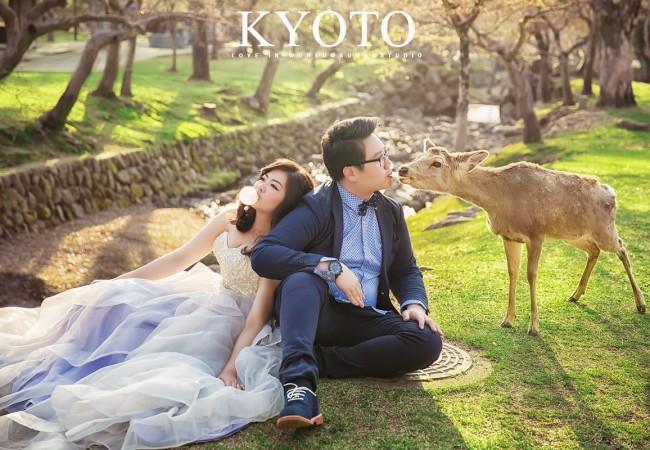 [京都婚紗] Michael&Angela Pre-wedding in Kyoto @日本京都海外自助婚紗
