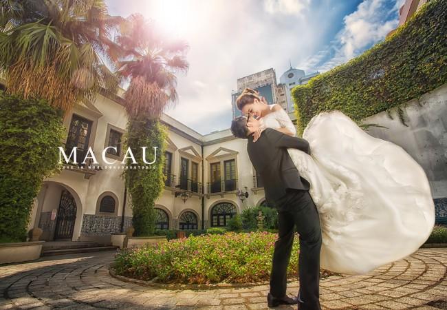 [澳門婚紗] 曹小胖&可欣 Pre-wedding in Macau @澳門海外自助婚紗