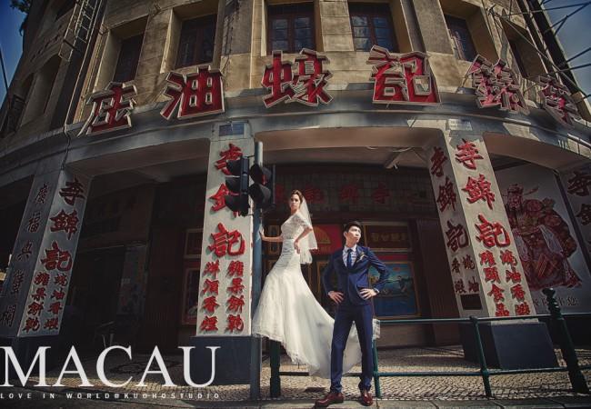 [澳門婚紗] Sai Wei&JRaquel Pre-wedding in Macau @澳門海外自助婚紗