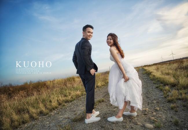 [自助婚紗] Brian & Kiwi @台中自助婚紗