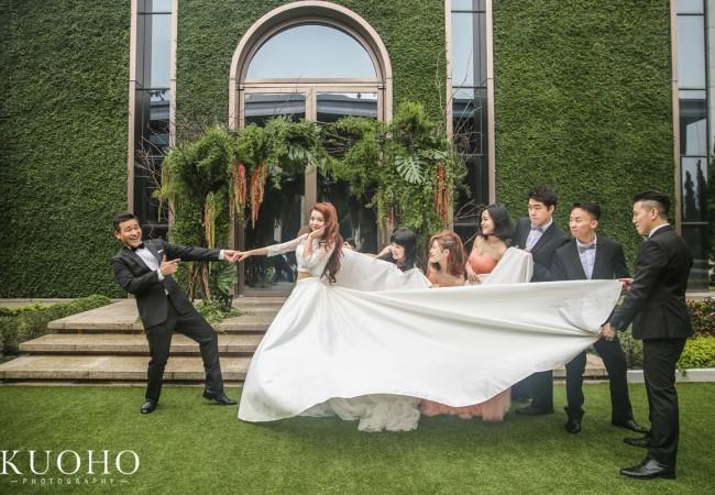 [台北婚攝]David & Chelsa 婚禮紀錄@台北萬豪