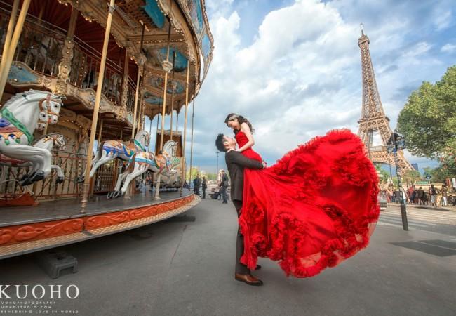 [巴黎婚紗]滿滿&LAN@巴黎自助婚紗