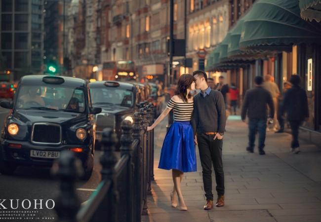 [英國婚紗]士喬&馨方@倫敦自助婚紗