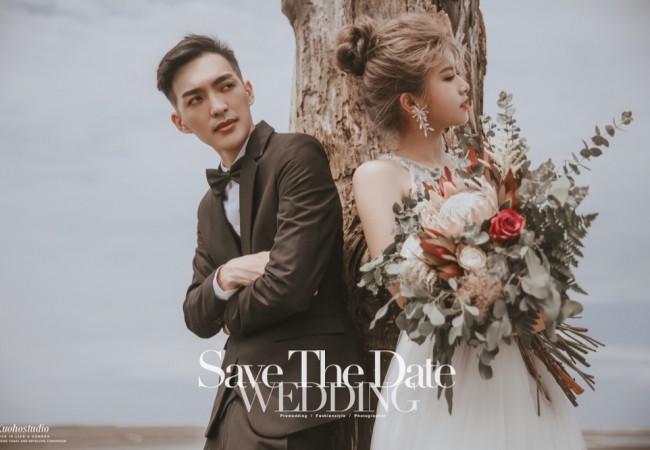 沙丘與海@台中自助婚紗