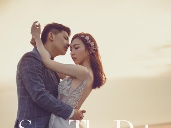 落日的浪漫@台中自助婚紗