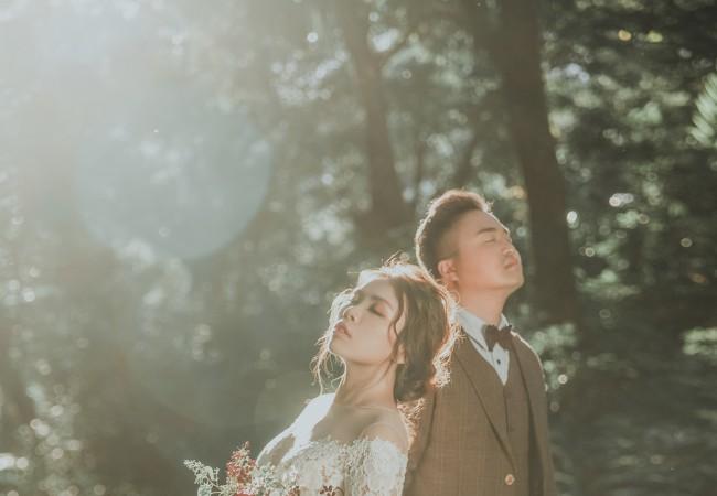 透光@台中自助婚紗