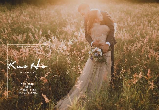 遠方傳來溫柔的歌@台中自助婚紗