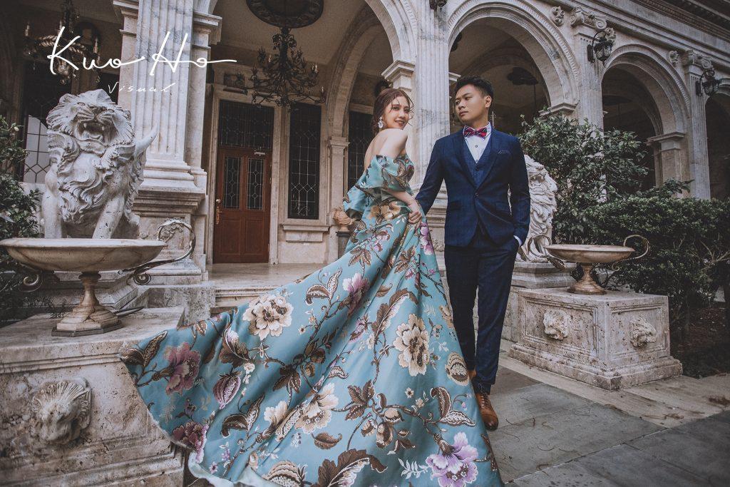 台中自助婚紗,台北自助婚紗,婚紗攝影,老英格蘭,時尚婚紗,浪漫婚紗,海外婚紗,花布禮服,郭賀影像,雜誌風婚紗
